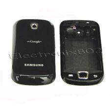Housing Fascia Back Battery Cover Keypad For Samsung i5800 Galaxy 3 Black UK