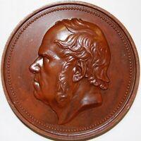 1858-BELGIUM-TRIBUTE TO COMPOSER F.J.FETIS-BRONZE MEDAL