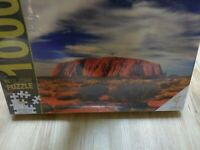 Uluru Australia Herron Books 1000 Pc Jigsaw Puzzle New Sealed Australian outback