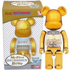 Medicom Chogokin Bearbrick Baby My First Be@rbrick B@by 200% [Gold & Silver Ver]