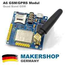 A6 Quad Band GSM Shield SMS GPRS SIM900A Audio A6 Modul Arduino Raspberry SIM900