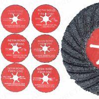 Semi-Flexible Flap Disc 115mm/125mm Stone/Concrete Sanding Wheels 24/36/60 Grit