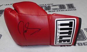 Joe Schilling Signed Boxing Glove BAS Beckett COA Bellator Glory Kickboxing Auto