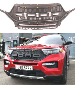 Grille Fit 2020 2021 2022 Explorer Raptor Style Front Bumper Grill Accessories