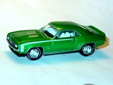 1969 69 CHEVROLET CHEVY CAMARO SS COLLECTIBLE DIECAST TOY CAR -Green, LOOSE