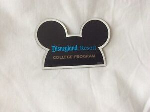 Disneyland Resort 'College Program' 1990's Magnet