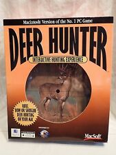 Deer Hunter Interactive Hunting Experience (Apple Macintosh Mac) Sealed Big Box