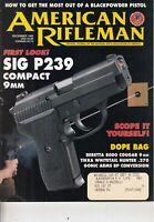 American Rifleman Gun Magazine December 1995 Back Issue Sig P239 Compact 9mm