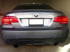 BMW E92 E93 3 Series ABS Euro Rear Trunk Performance Spoiler Lip Wing Sport Lid