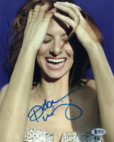 DEBRA MESSING SIGNED AUTOGRAPHED 8x10 PHOTO WILL & GRACE SEXY PRETTY BECKETT BAS
