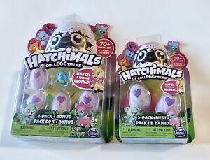 Spinmaster HATCHIMALS CollEGGtibles 4 PACK + BONUS & 2 PACK + NEST SEASON 1