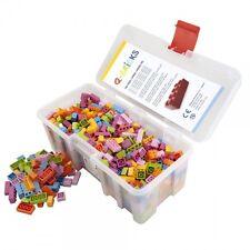 Q-BRICKS 3450 Confezione MAXI FLORAL 750Pz Mix colori