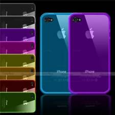 SLIM GEL CLEAR CASE FOR IPHONE 4 4S 4G THIN SOFT TRANSPARENT BACK COVER