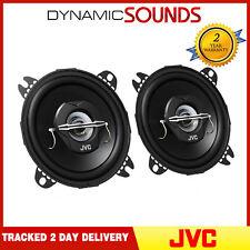 "JVC 420W Total 4"" 10 cm 2-Way Car Van Door Shelf Coaxial Speakers New Pair"