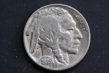 """Buffalo Nickel Random Date and Mint Mark from Circulated Roll """"Full Dates"""""""