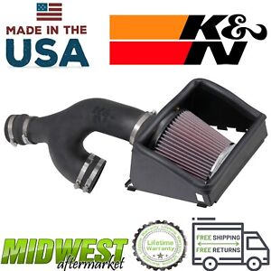 K&N Performance Air Intake System For 2017-2019 Ford F150 3.5L Ecoboost