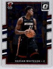 2017-18 Optic Hassan Whiteside NBA PWE Base Card Heat #80