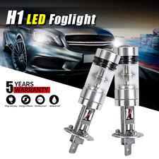 2x  H1 100W LED Fog Light Bulb Car Driving Lamp DRL 6000K White High Power