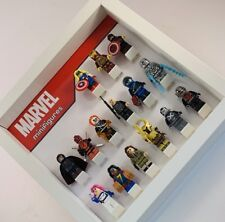 Display Case Frame for Lego Marvel minifigures AFOL minifigs figures