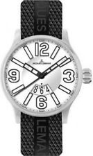 JACQUES LEMANS 1-1673B Men's Watch Black Silver Classic