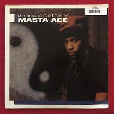 MASTA ACE ~ THE BEST OF COLD CHILLIN 3 LP (2001) ORIG HIP HOP LANDSPEED LSR 8008