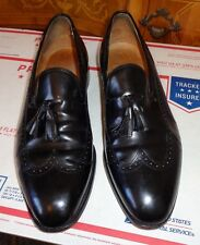 JOHNSTON & MURPHY LIMITED EDITION USA MADE TASSEL LOAFER SIZE 10C #A46501