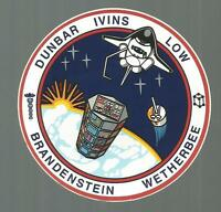 """NASA SHUTTLE COLUMBIA STS-32  CREW PATCH SPACE DECAL STICKER 3 1/2"""""""