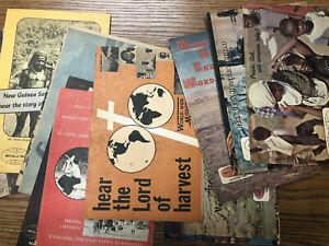 Basil Miller - World-Wide Missions - 16 Magazines - 1964-66 Evangelical Church