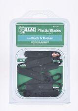 10 Plástico Hojas - Black & Decker Cortacésped GR120 gr120c gx295 gx295c a6172