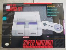 BRAND NEW Super Nintendo Console Entertainment System snes UN3 Possible 1Chip