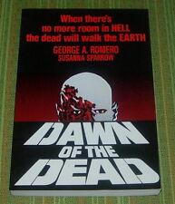 DAWN OF THE DEAD TRADE PAPERBACK  MOVIE TIE IN  COLOR PHOTOS  1978 GEORGE ROMERO