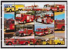 0772 Madagasikara 1999 Brandweerwagen Fire-Engine S/S MNH