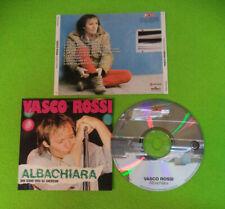 CD VASCO ROSSI Albachiara Ita PANORAMA PACD 3002 no lp mc dvd  (CI15)