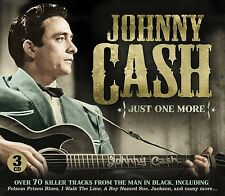 JOHNNY CASH - JUST ONE MORE 3 CD NEU