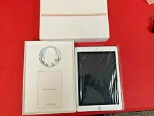 "Apple 9.7"" iPad 6th Gen 128GB Gold Wi-Fi MRJP2LL/A 2018 Model + Apple+ Warranty!"