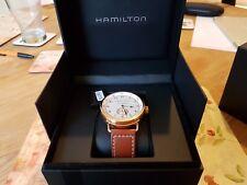! nuevo! Hamilton azul marino de color caqui Pioneer pequeño segundo H77745553 Reloj para hombres