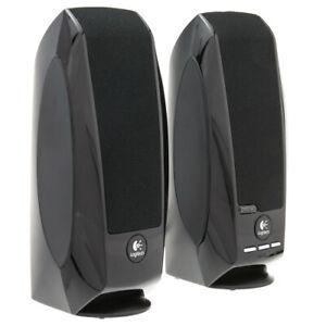 Logitech S150 USB Stereo Speaker System - Black