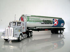 KENWORTH W900 Caltex Fuel Tanker Diecast Truck/Trailer Custom Graphics