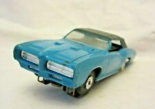 Vintage Slot Car Unmarked Blue Marked #4