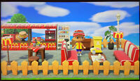 Animal Crossing New Horizon Outdoor McDonalds Café Bar Or Marvel Bar 33 ítems
