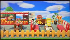 Animal Crossing New Horizon Outdoor McDonalds Café Bar Or Marvel Bar 33 ítems
