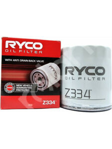 Ryco Oil Filter FOR FORD COURIER PE (Z334)