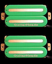 Guitar Pickups - GUITARHEADS MEGAMETAL HUMBUCKER - Bridge Neck SET 2 - GREEN