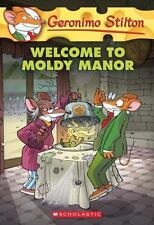 Geronimo Stilton #59: Welcome to Moldy Manor-ExLibrary