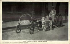 Skagway AK Yeoman's Chariot c1910 Postcard