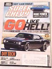 Super Chevy Magazine '68 Camaro Hot Cam Swap July 2013 030417NONRH