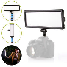144-LED Lamp Video Light Panel Dimmable Handheld On-Camera for DSLR DV Camcorder