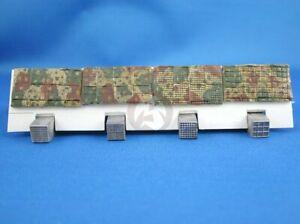 Peddinghaus 1/35 Zimmerit Punch Set for German AFVs WWII (4 main patterns) 233