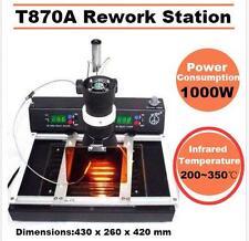 Infrared Rework Station T870A Preheating BGA Solder Wlder IRDA Welder 1000W DE
