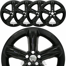 "4 fit Dodge Charger 2015 16 2017 Black 20"" Wheel Skins Hub Caps Full Rim Covers"